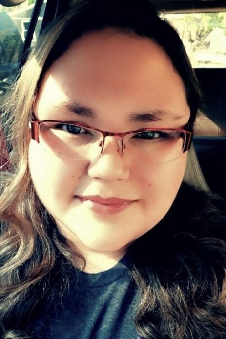 Student delegate Anastasia DeVance
